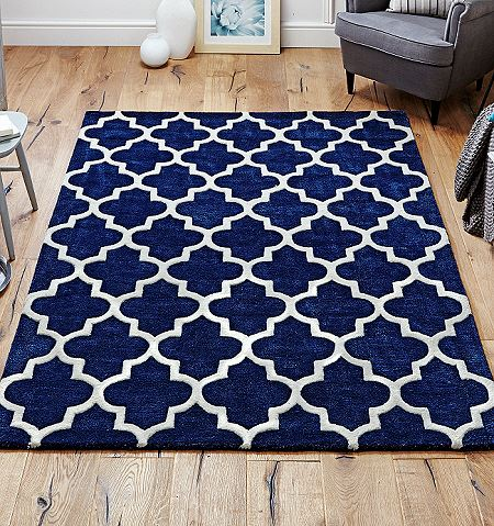 Arabesque Blue Rugs On Sale From 163 73 Free Uk Delivery