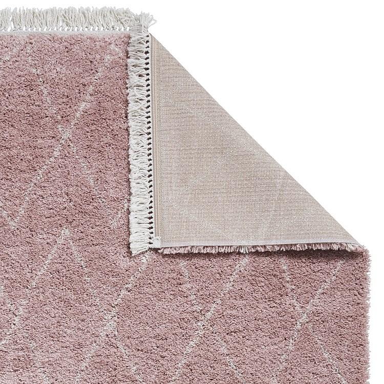 Boho Rugs 8280 Rose Pink