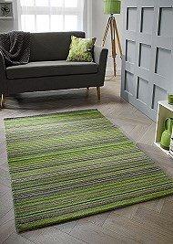 Carter Wool Rugs - Green