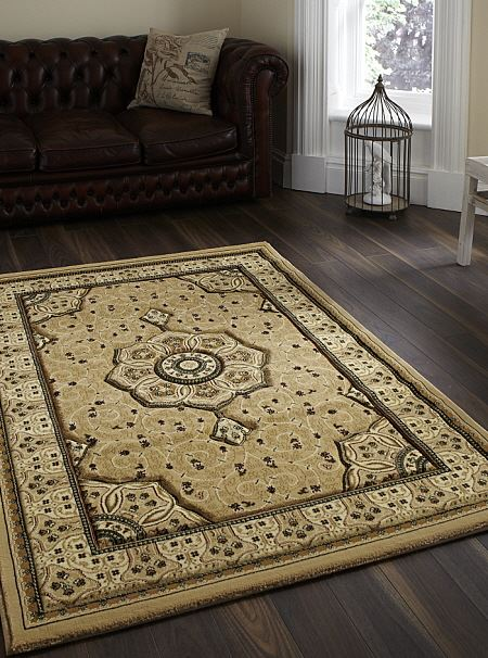 Heritage Rug Beige 4400 From Only 163 39 99 Free Delivery To