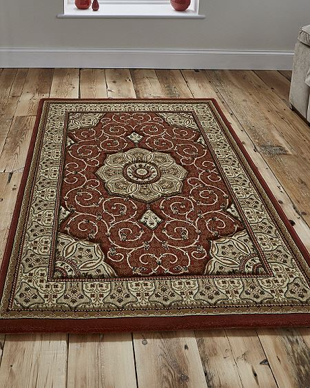 Heritage Rug Dark Terracotta 4400 Now On Sale From Only 163 39 99