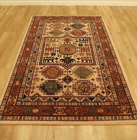 Kashqai Rugs 4306 100 Traditional Wool Rugs And Runners