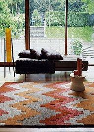 Matrix Rugs MAX23 Cuzzo Terracotta