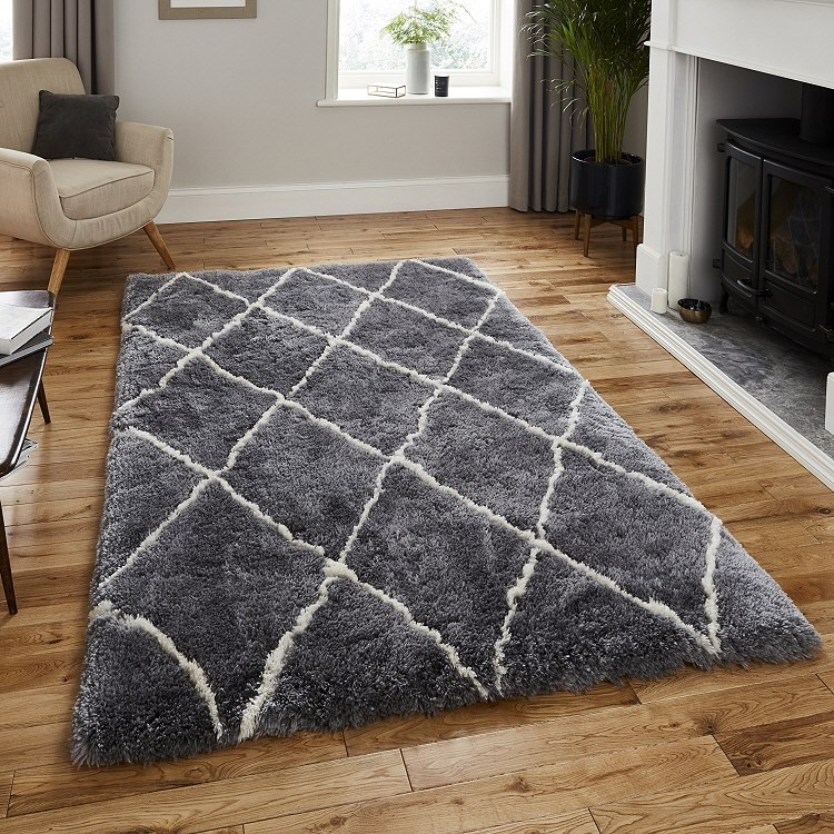 Morocco Rugs 2491 Grey Cream Free Uk Delivery Express Rugs