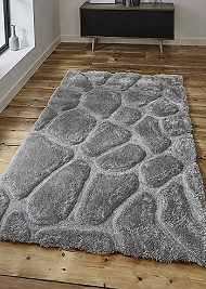 Noble House Rugs Silver 5858