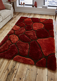 Noble House Rugs Terracotta 5858