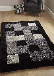 Noble House Rugs Black JR04