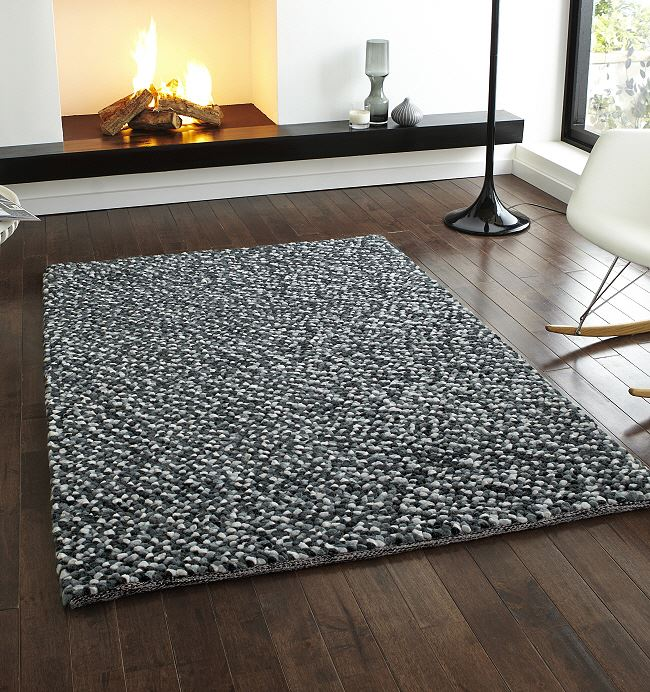 Ikea Rugs Sale Uk: Pebbles Rug Grey Wool Rugs From Only £209.99