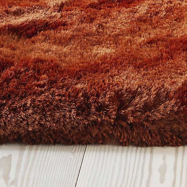 Plush Rugs Rust On Sale Now With Free Delivery