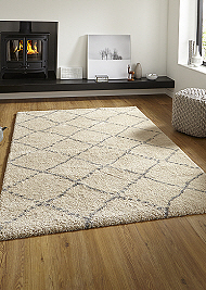 Royal Nomadic 5413 Rugs Cream Grey