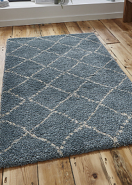 Royal Nomadic 5413 Rugs Teal Champagne