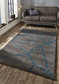 Royal Nomadic 5746 Rugs Grey Blue