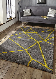 Royal Nomadic 5746 Rugs Grey Yellow