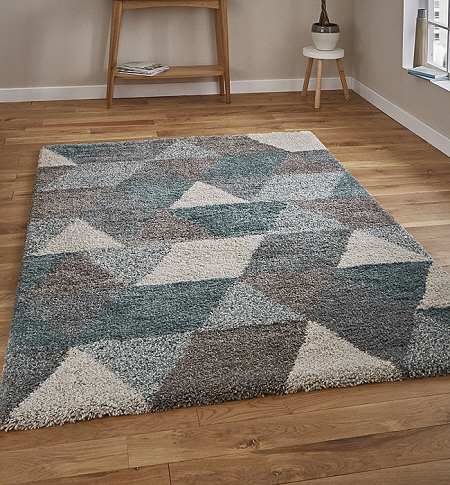 Royal Nomadic 7611 Grey Teal Rug From Only 163 59 00