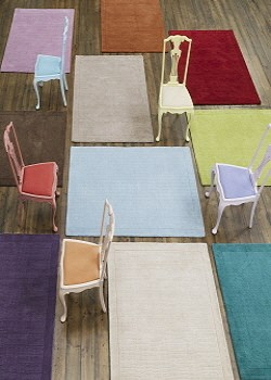 Select rug by colour