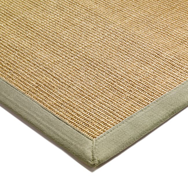 Natural Sisal Rugs With A Green Border From Only 163 59