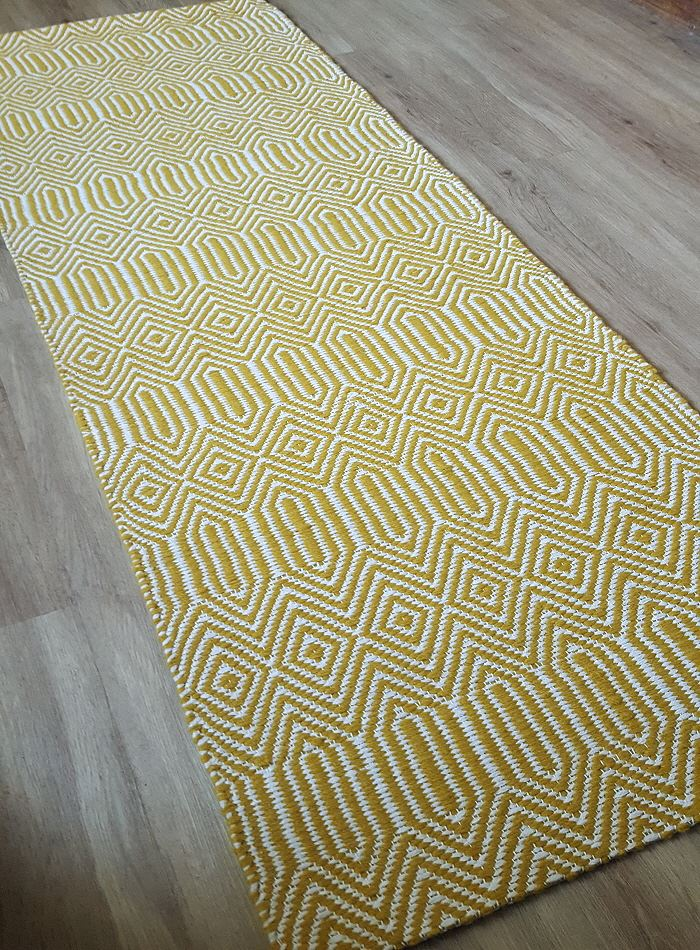 Sloan Mustard Runners And Rugs Free Uk Delivery