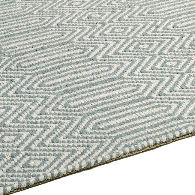 Sloan Hall Runner In Duck Egg Blue From Only 163 43 00