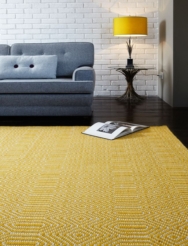 Sloan Mustard Rug On Sale Now With Free Delivery Express