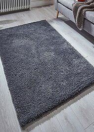Softness Charcoal Rugs
