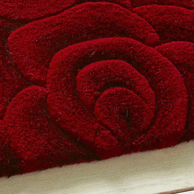 Valentines Rugs Red Rose From 163 89 With Free Delivery