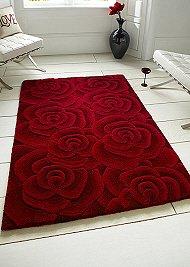 Valentine Rugs Red Rose
