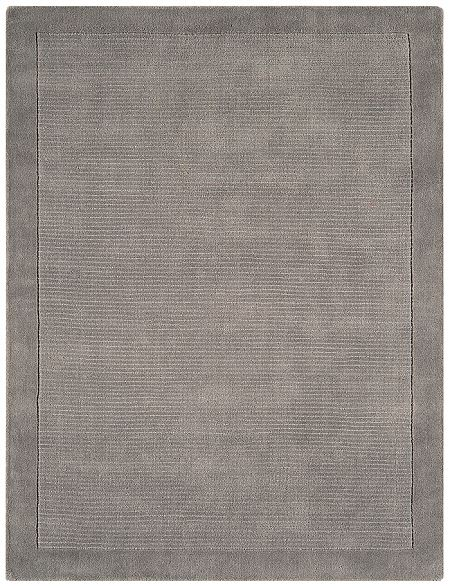 York Grey Rugs And Hall Runners Plain Wool Range From Only 163 33