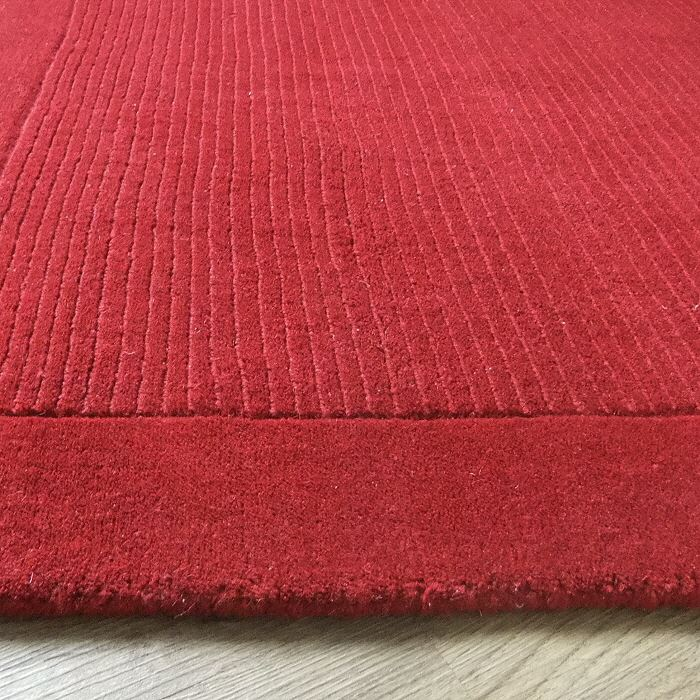 York Poppy Rugs And Hall Runners Plain Wool Range From