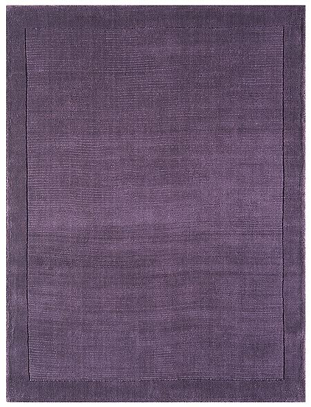 York Purple Rug Plain Purple Wool Rugs From Only 163 33